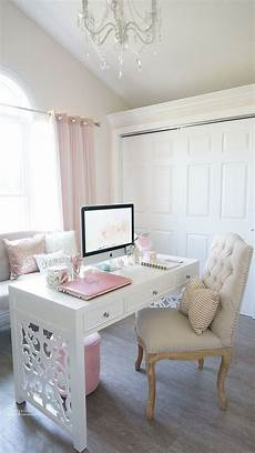 White Home Decor Ideas by 30 Delightful Feminine Home Office Furniture Ideas Digsdigs