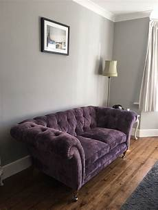 walls painted in pavilion grey farrow ball velvet sofa from living room 2019