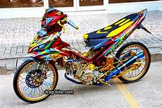 Mx 135 Modif by 40 Foto Gambar Modifikasi Jupiter Mx King Jari Jari Ceper