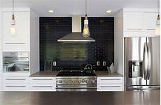Black Backsplash Kitchen Kitchen Subway Tiles Are Back In Style 50 Inspiring Designs