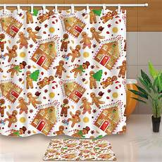 Gingerbread Shower Curtain