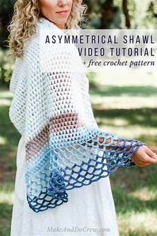 Easy Modern Four Season Crochet Shawl Tutorial