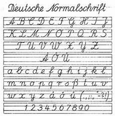Ausgangsschrift Der Ddr 1958 Schulausgangsschrift