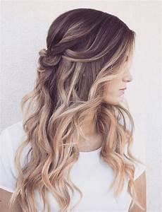 frisuren lange haare locken hochstecken mit bildern