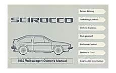 car repair manuals download 1985 volkswagen scirocco interior lighting vw volkswagen scirocco owner s manual 1982 bentley publishers repair manuals and automotive