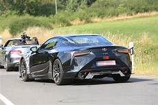 lexus lc 2020 2020 lexus lc f spied for the time looks to become