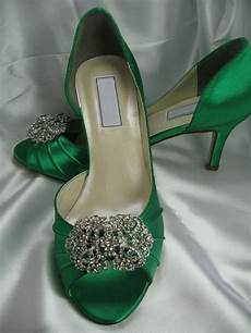 Emerald Green Heels For Wedding