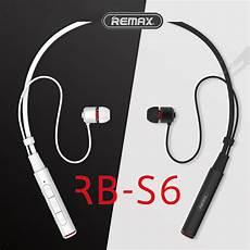 Remax Bluetooth Neckband Sports Earphone Wireless remax rb s6 sports neckband bluetooth headset wireless