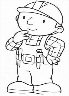 fun coloring pages bob the builder coloring pages