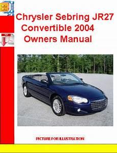 car repair manuals online free 1996 chrysler sebring lane departure warning chrysler sebring jr27 convertible 2004 owners manual download ma
