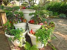 container garden tower pyramid how to build it