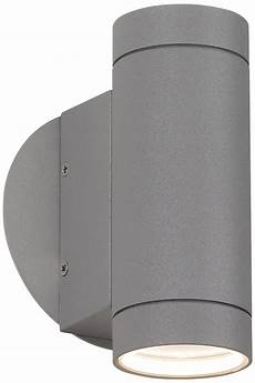 matte silver up and down wall light lsplus com wall