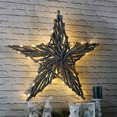 large light up wicker christmas star wall decoration melody maison 174