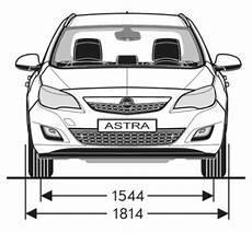 Opel Astra J Sports Tourer Abmessungen Technische