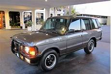 auto air conditioning repair 1993 land rover range rover security system buy used 1993 land rover range rover county sport utility 4 door 3 9l in los angeles california