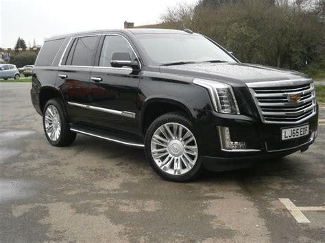 Used Black Cadillac Escalade For Sale