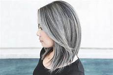 how to get and take care of the salt and pepper hair trend