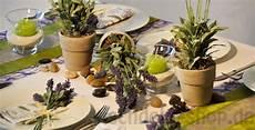 Tischdeko Mediterran Mit Lavendel Tischdeko Sommer