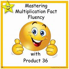 multiplication and worksheets 4315 mastering multiplication fact fluency with product 36 math activities multiplication facts