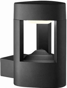 modern dark grey aluminium ip54 outdoor led wall light 2005gy