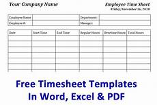 free timesheet template time card template ontheclock