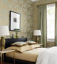 Bedroom Ideas Green And Gold by New York Interior Design
