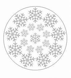 Malvorlagen Schneeflocken Ausdrucken Schneeflocken Mandala Zum Ausdrucken Ausmalbilder