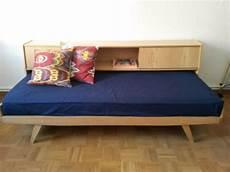 vintage daybed tagesbett schlafsofa sofa bett hellerau in