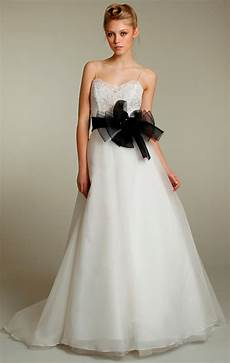 Wedding Gown Sashes choose your fashion style wedding dresses with black sashes