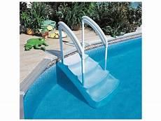 escalier pour piscine enterrée escalier piscine hors sol amovible voie royale piscine