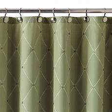 shower curtains with green wellington shower curtain in green bed bath beyond