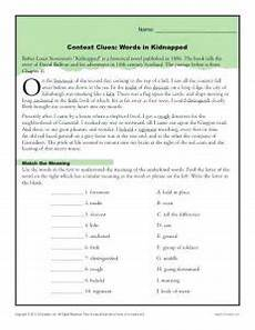 38 interesting context clues worksheets kittybabylove com