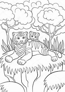 baby forest animals coloring pages 17512 pictures animals smiling coloring pages animals smiling tiger with