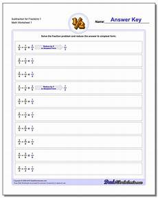 subtraction worksheets and answers 9985 math worksheets