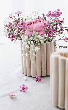 Vasen Selber Machen - upcycling leicht gemacht diy vase aus holz selber machen