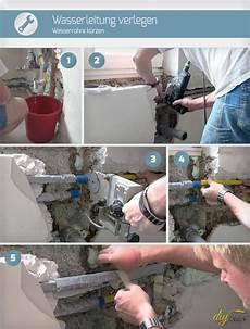Wasserleitung Verlegen Wasserrohre K 252 Rzen Anleitung