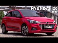 hyundai i20 2019 hyundai i20 2019 driving exterior interior