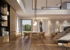 warm contemporary warm modern interior design vis for lk projekt pl on