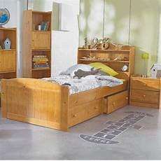 tete de lit etagere lit enfant avec t 234 te de lit 201 tag 232 re miel