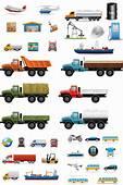 Vehicle Illustrations Vector  Free Stock Art
