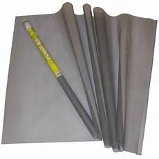 rouleau de toile de moustiquaire en fibre de verre grise
