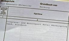 eintragung ins grundbuch n 252 rburgring vertrags chaos ii motor kritik de