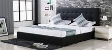 lit design lit design avec coffre 224 rangement noir