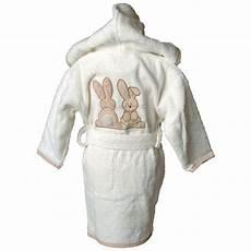peignoir personnalisé bébé peignoir b 233 b 233 lapin amikado