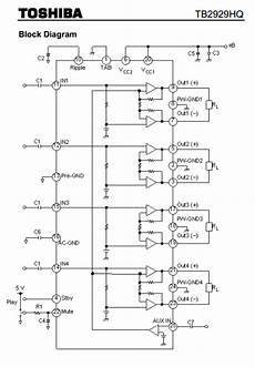 Tda7388 Ic Diagram Wiring
