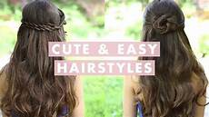cute and easy hairstyles youtube