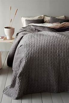 tagesdecke einzelbett tily tagesdecke einzelbett 180x260 cm grau