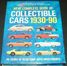 books about cars and how they work 1990 mazda familia transmission control new complete book of collectible cars 1930 1990 199 1561733032 ebay