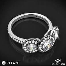 ritani endless love 3 stone engagement ring 2181