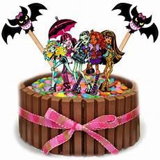 topo de bolo monster high no elo7 brl flex festas 70517d